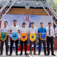 Trao giải bóng đá Cup Giuse Nguyễn Duy Khang